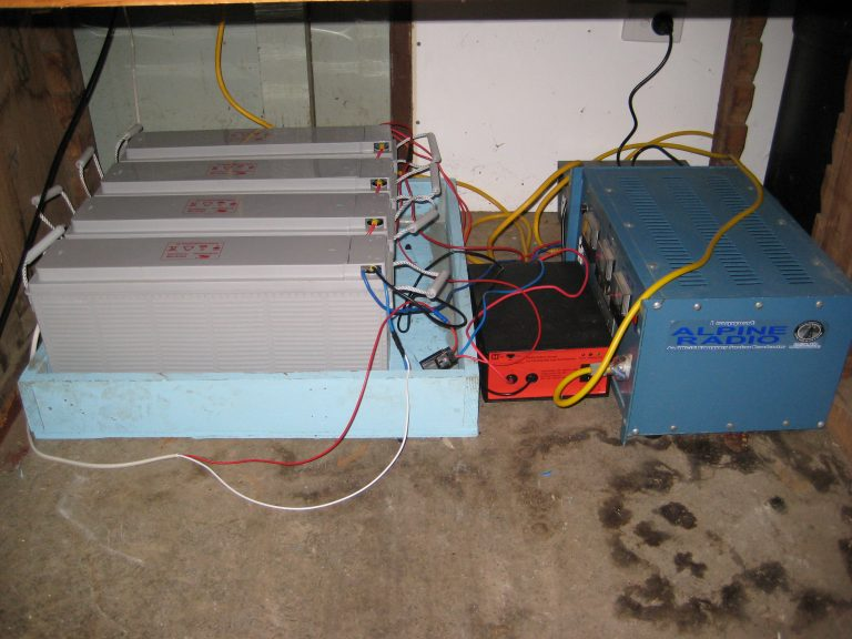 Car batteries and switchable charger