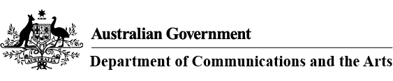 Department-of-Communications-and-the-Arts-logo