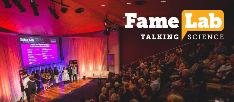 Audience at the FameLab Australia in 2019